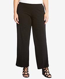 Karen Kane Plus Size Matte Jersey Pull-On Pants