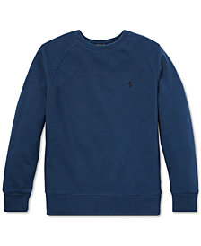 Polo Ralph Lauren Big Boys Spa Terry Sweatshirt