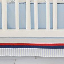 First Mate 3pc Crib Bedding Set