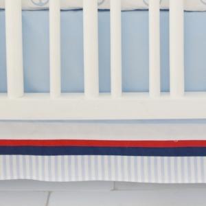 First Mate 3pc Crib Bedding Set Bedding