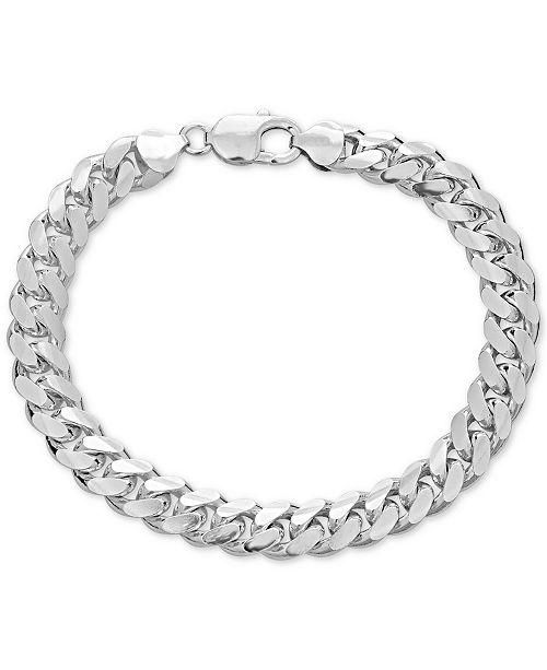 Macy S Men Cuban Link Chain Bracelet