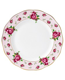 Old Country Roses Pink Vintage Dinner Plate