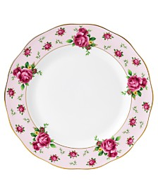 Royal Albert Old Country Roses Pink Vintage Dinner Plate