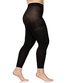 Berkshire Plus Size Easy-On Max Coverage Footless Tights 5041
