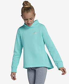 Nike Big Girls Sportswear Fleece Pleated-Back Sweatshirt
