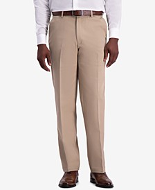 Men's W2W PRO Classic-Fit Performance Stretch Non-Iron Flat-Front Casual Pants