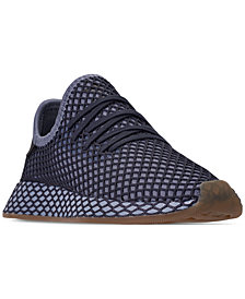 adidas Boys' Deerupt Runner Casual Sneakers from Finish Line