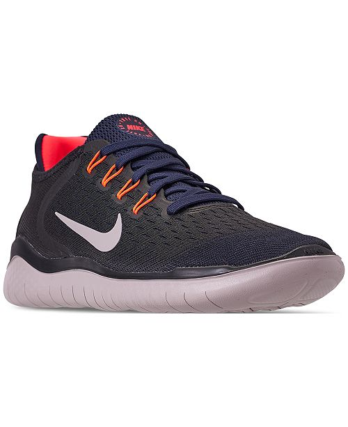 a551511afe64 Nike Men s Free Run 2018 Running Sneakers from Finish Line ...