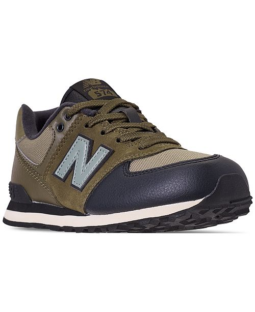 321be184453f New Balance Little Boys  574 Casual Sneakers from Finish Line ...