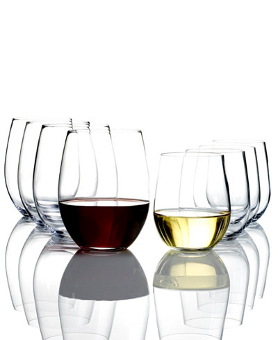 Riedel O Cabernet & Chardonnay Wine Glasses 8 Piece Value Set