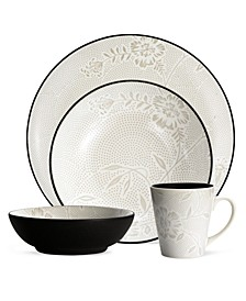 Colorwave Bloom 4 Piece Place Setting