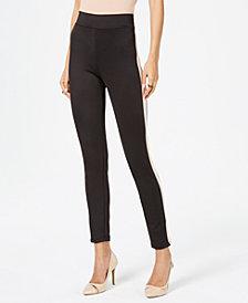 Thalia Sodi Side-Striped Leggings, Created for Macy's