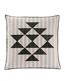 "Lyons Cross Stitch 20"" Dec Pillow"