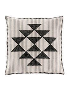 "Lyons Cross Stitch 20"" Dec Pillow"