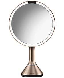 "8"" Lighted Sensor Makeup Mirror with Touch-Control Brightness"