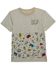 Jem Toddler Boys Skills For Days Graphic T-Shirt