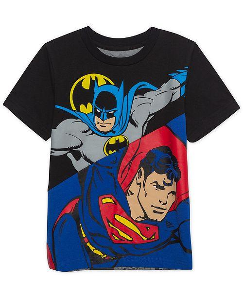 Marvel DC Comics Toddler Boys Heroes Unit Graphic T Shirt