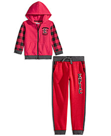 Epic Threads Toddler Boys' Fleece Sweatshirt & Joggers