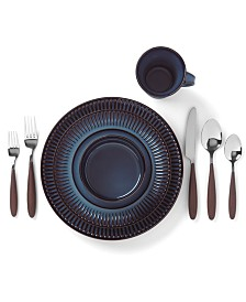 Dansk Flamestone Denim Dinnerware Collection