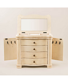 Austyn Jewelry Chest, Antiqued Ivory