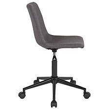 Siena Home And Office Task Chair In Dark Gray Fabric