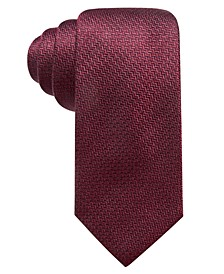 Men's Kent Unsolid Solid Slim Silk Tie, Created for Macy's