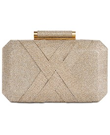 I.N.C. Lindsayy XX Lurex Clutch, Created for Macy's