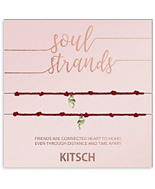 Kitsch Soul Strands Heart Bracelet Set