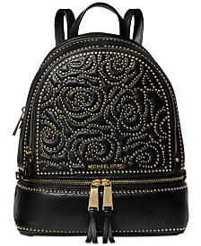 b1b9e7978e MICHAEL Michael Kors Rhea Zip Studded Backpack