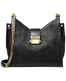 MICHAEL Michael Kors Whitney Quilted Chain Shoulder Tote