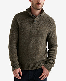 Lucky Brand Men's Henley Sweater