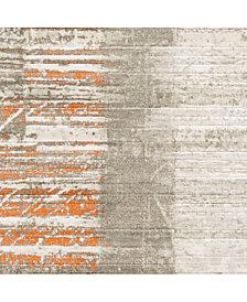 "Surya Jax JAX-5012 Burnt Orange 18"" Square Swatch"