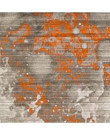 "Surya Jax JAX-5022 Burnt Orange 18"" Square Swatch"