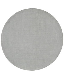 Surya Mystique M-211 Medium Gray 6' Round Area Rug