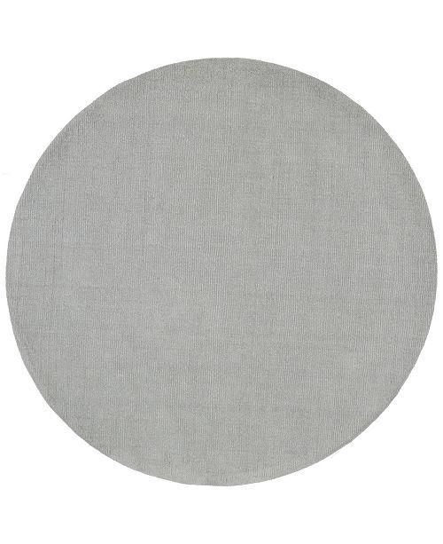 Surya Mystique M-211 Medium Gray 6' Round Area Rug