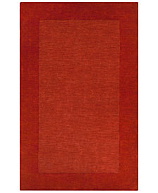 Surya Mystique M-300 Burnt Orange 8' x 11' Area Rug