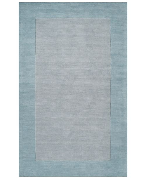 "Surya Mystique M-305 Medium Gray 7'6"" x 9'6"" Area Rug"