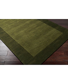 Surya Mystique M-315 Green 8' Square Area Rug