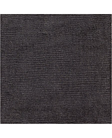 "Surya Mystique M-341 Charcoal 18"" Square Swatch"