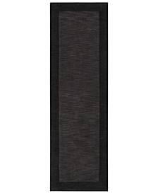 "Mystique M-347 Charcoal 2'6"" x 8' Area Rug"