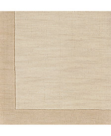 "Surya Mystique M-5324 Butter 18"" Square Swatch"