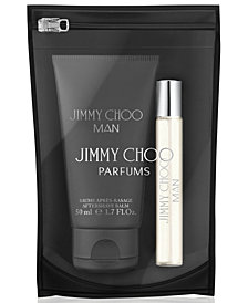 Receive a Complimentary 2-Pc. Kit with any large spray purchase from the Jimmy Choo Men's Fragrance Collection