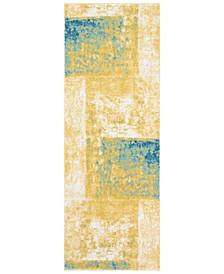 """Harput HAP-1058 Saffron 2'7"""" x 7'3"""" Area Rug"""