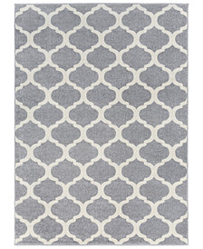 "Surya Horizon HRZ-1001 Medium Gray 7'10"" x 10'3"" Area Rug"