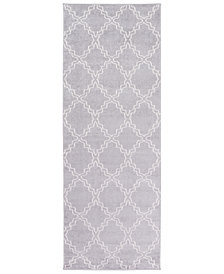 "Surya Horizon HRZ-1073 Medium Gray 2'7"" x 7'3"" Area Rug"