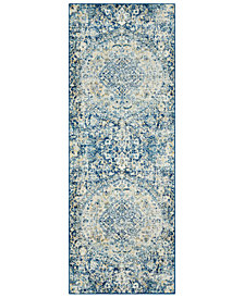 "Surya Harput HAP-1046 Dark Blue 2'7"" x 7'3"" Area Rug"