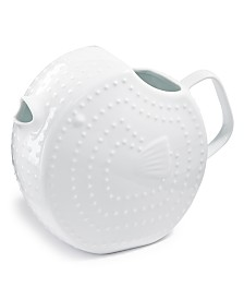 CLOSEOUT! The Cellar Coastal Blowfish Pitcher, Created for Macy's