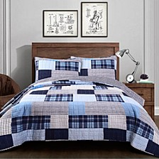 Greenville 3-Piece King Quilt Set
