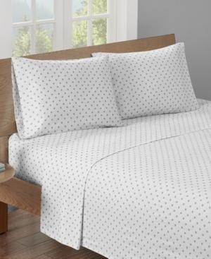 HipStyle Printed King Cotton Sheet Set Bedding
