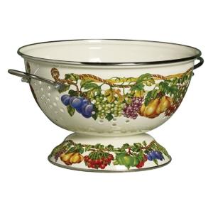 Kensington Garden Porcelain Enamel 5 Qt Colander